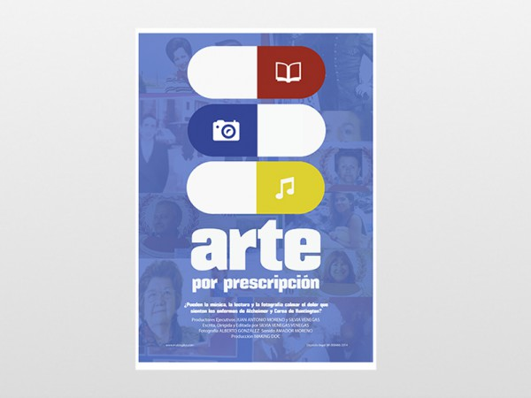 "<span>Cartel para el documental ""Arte por prescripción"" para Making Doc</span><i>→</i>"