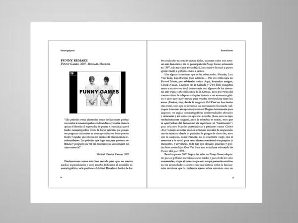 """<span>Edición, diseño y maquetación de interiores del libro """"Bastard Movies"""" para GasMask</span><i>→</i>"""