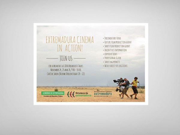 <span>Flyer para la Extremadura Film Comission</span><i>→</i>