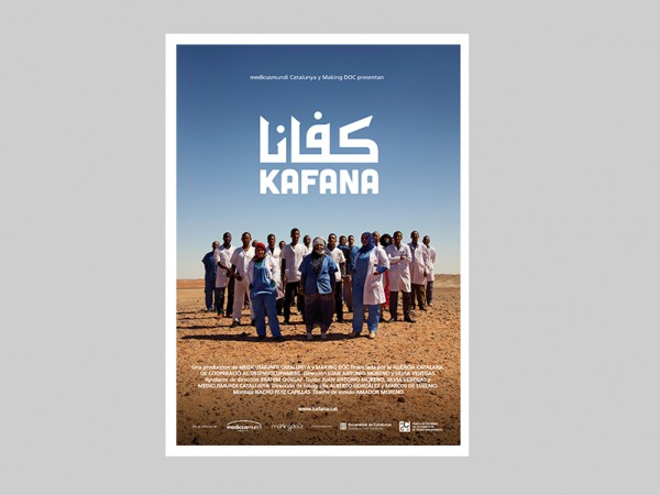 "<span>Cartel para el documental ""Kafana"" de Making Doc</span><i>→</i>"