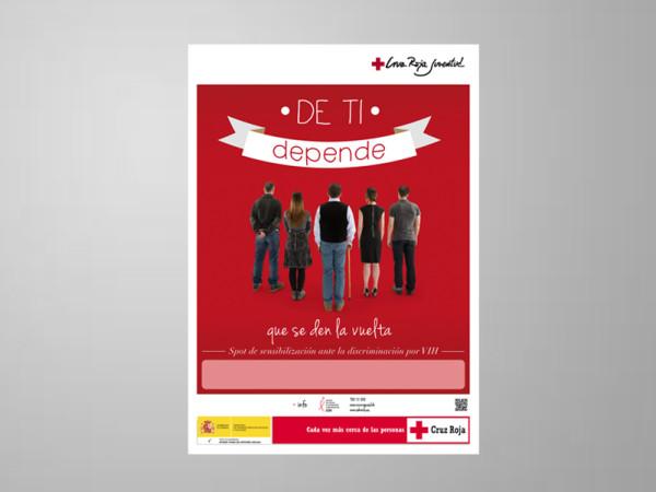 <span>Cartel para spot de Cruz Roja</span><i>→</i>